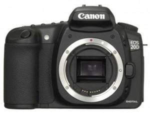 Canon EOS 20D front