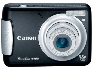 Canon PowerShot A480 front