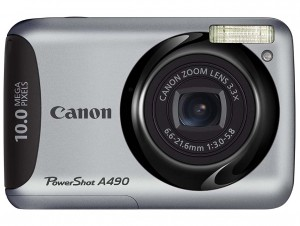 Canon PowerShot A490 front