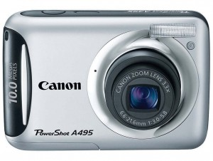 Canon PowerShot A495 front