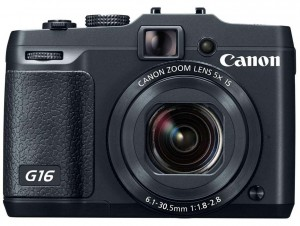Canon PowerShot G16 front
