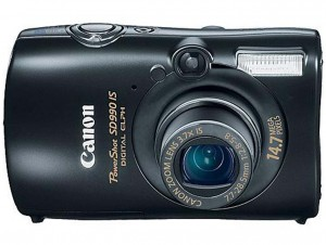 Canon PowerShot SD990 IS front