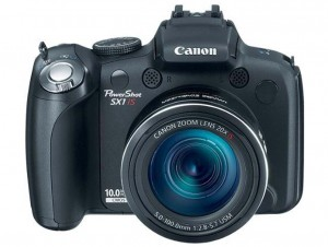 Canon PowerShot SX1 IS front