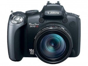 Canon PowerShot SX10 IS front