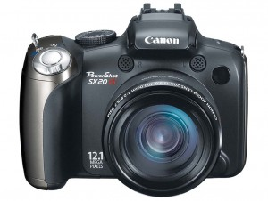 Canon PowerShot SX20 IS front