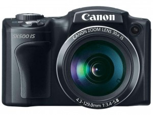 Canon PowerShot SX500 IS front