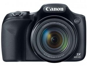 Canon PowerShot SX520 HS front