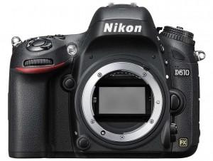 Nikon D610 front