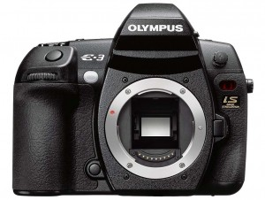 Olympus E-3 front