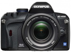 Olympus E-450 front