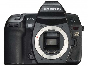 Olympus E-5 front