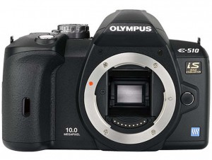Olympus E-510 front