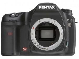 Pentax K10D front
