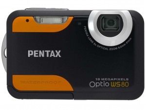 Pentax Optio WS80 front