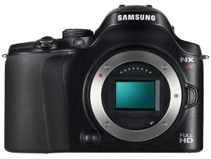 Samsung NX20 front