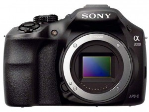 Sony Alpha A3000 front