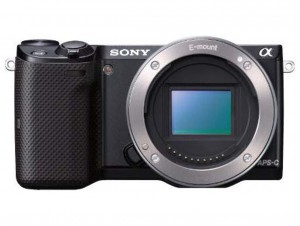 Sony Alpha NEX-5T front