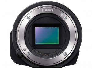 Sony Alpha QX1 front