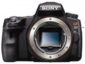 Sony SLT-A37 front