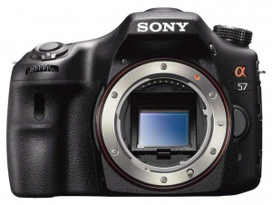 Sony SLT-A57 front