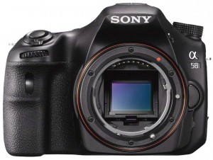 Sony SLT-A58 front