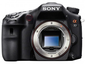 Sony SLT-A77 front