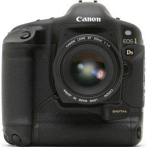 Canon EOS-1Ds front