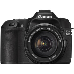 Canon EOS 50D front