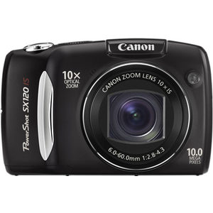Canon PowerShot SX120 IS front