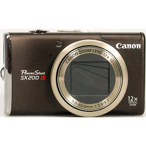 Canon PowerShot SX200 IS front