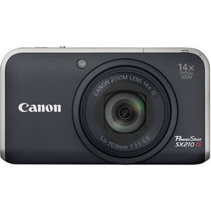 Canon PowerShot SX210 IS front