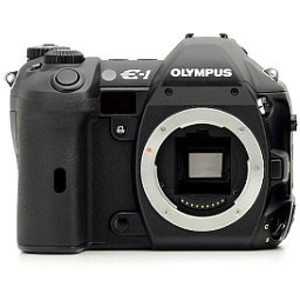 Olympus E-1 front