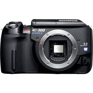 Olympus E-300 front