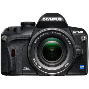 Olympus E-410 front