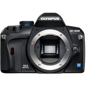 Olympus E-420 front