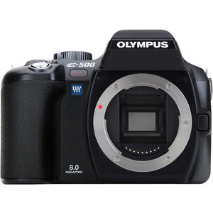 Olympus E-500 front