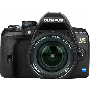 Olympus E-600 front