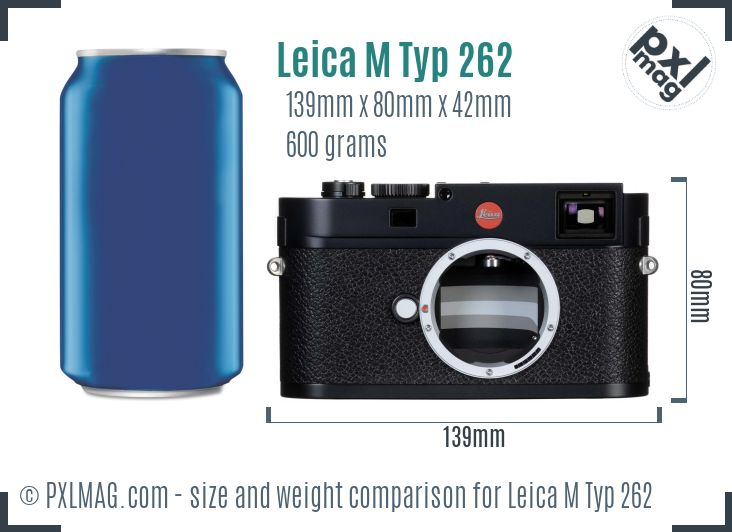 Leica M Typ 262 dimensions scale