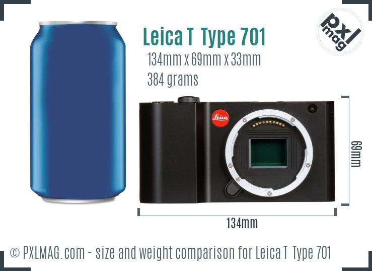 Leica T Typ 701 dimensions scale