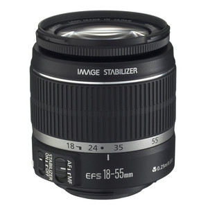 Canon-EF-S-18-55mm-f3.5-5.6-IS lens