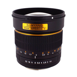Samyang-85mm-F1.4-Aspherical-IF-Samsung-NX lens
