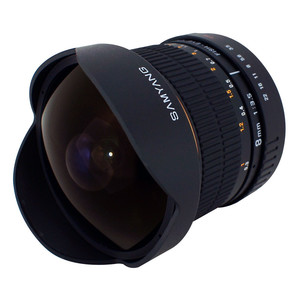 Samyang-8mm-F3.5-Aspherical-IF-MC-Fisheye-Four-Thirds lens