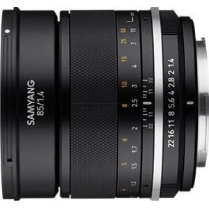 Samyang-MF-85mm-F1.4-Mk2--Rokinon-MF-85mm-F1.4-II-Micro-Four-Thirds lens