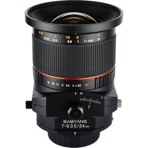Samyang-T-S-24mm-f3.5-ED-AS-UMC-Canon-EF lens