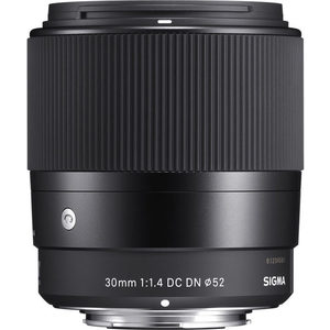 Sigma-30mm-F1.4-DC-DN-C-Micro-Four-Thirds lens
