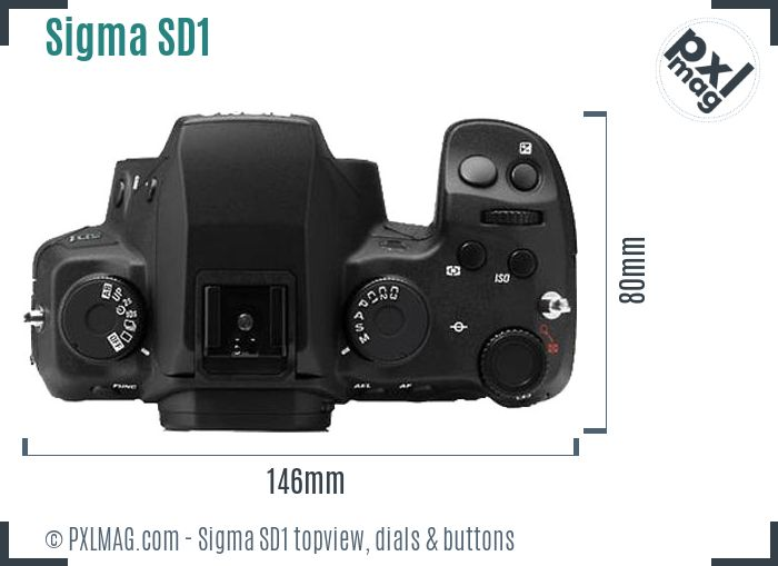 Sigma SD1 topview buttons dials